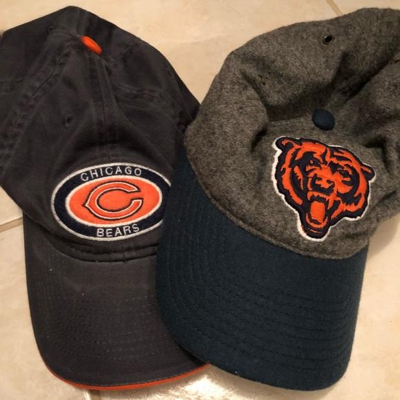 f6a76f1b Two Chicago Bears Caps NWT